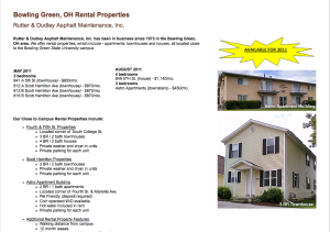 Old Rentals Web Page