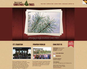 website bowling green ohio christmas trees