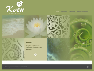New Zealand Massage Therapist Website