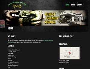 Automotive Website Repair