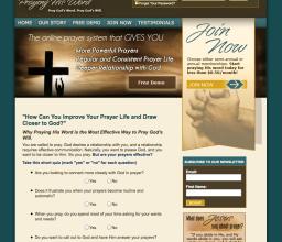Praying His Word