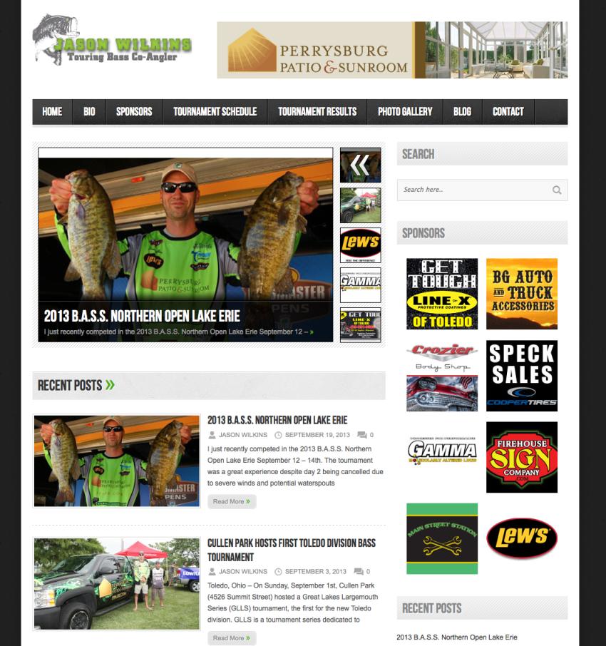 Wilkins Bass Angler Website