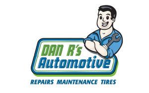 Auto Wrench cartoon logo