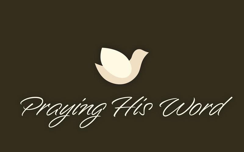 Praying His Word logo