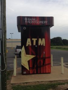 Custom Design Freestanding ATM