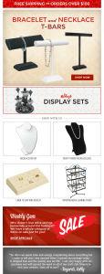 ecommerce email design