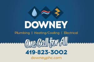 Downey Plumbing postcard