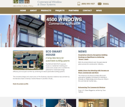 Elements Architectural PVCu Website